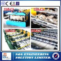 Wholesale 10 - 15m / Min High Performance Floor Deck Roll Forming Machine 8 - 12m / Min from china suppliers