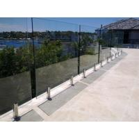 Wholesale Glass pool fence spigot balcony glass fence from china suppliers