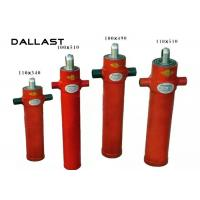 Buy cheap Single Acting Telescopic Cylinder Chrome 2 Stage Bore 110mm TS16949 Certification from wholesalers