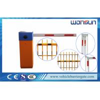 Quality Professional IP44 Heavy Duty Car Park Security Barriers Electric Boom Gates for sale