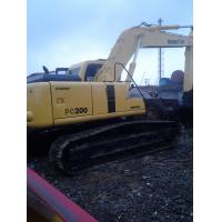 Wholesale used komatsu Excavator koamtsu PC200-6 from china suppliers