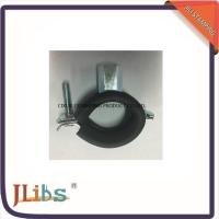 Quality OEM 20mm M8 DC01 Cast Iron Pipe Clamps With EPDM Rubber ISO9001 for sale