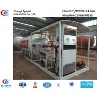 Wholesale hot sale!30M3 mobile skid lpg gas station for filling cars, wholesale price skid lpg gas station with auto lpg dispenser from china suppliers