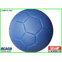 Wholesale Pebble Surface Leather Soccer Ball Made By Basketball PVC Leather from china suppliers