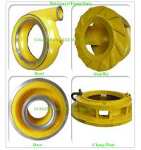 Buy cheap Cast Process Suction Dredge Pump Dredge Pump Parts OEM / ODM Available from wholesalers