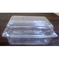 PET Salad Box Plastic Salad Bowls187mm ×140mm  For Cherry Box Grape Box