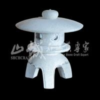 Wholesale Natural Stone Outdoor Granite Lanterns from china suppliers