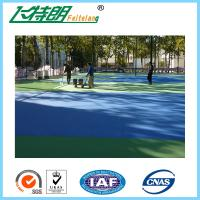 Wholesale Silicon PU Floor multifunctional outdoor Basketball Courts Badminton Court Flooring Materials from china suppliers