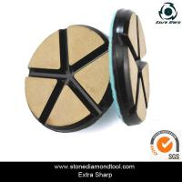 "Buy cheap 3"" 80mm Ceramic Resin Bond Diamond Grinding Disc Stone Floor Polishing Pads from wholesalers"