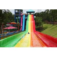 Wholesale water park constructor  fiberglass water slide,Race slide from china suppliers