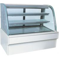 Wholesale 220v 800w Bakery / Bread Base Marble Cake Display Refrigerator Two Layers from china suppliers