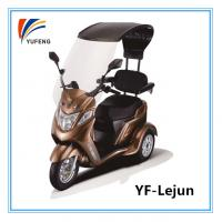 Quality Three Wheels Electric Battery Operated Tricycle With Sun Visor AC 220V 50HZ for sale
