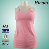Wholesale Newest Design Blank Womens Fitness Wear Racer Back Yoga Tank Tops from china suppliers