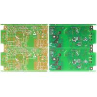 Wholesale Immersion gold with yellow color single sided pcb board FR4 from china suppliers