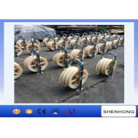 Wholesale Overhead Lines Large Diameter Rope Pulley Two Bundled Stringing Blocks from china suppliers