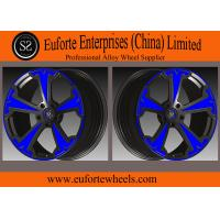 Quality SS wheels - Aluminum Alloy 6061 - T6 Forged Wheels Black With Red Face Forged Custom Wheels for sale