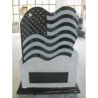 Quality Black Grantie Tombstone (LY-196) for sale