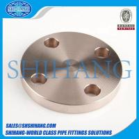 Buy cheap copper nickel cuni 90/10 c70600 blind flange from wholesalers