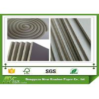 Wholesale Mixed Pulp Unbleached Laminated Grey Board for Stationery / Mosquito Coil from china suppliers