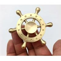 Wholesale Copper Old Captain Wheel Hand Spinner Toy For Realese Anxiety / Ordom from china suppliers