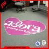 Buy cheap Advertise custom design PVC roll flooring / pvc flooring vinyl sticker from wholesalers