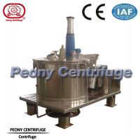 Wholesale Scraper Bottom Discharge Chemical Centrifuge Machine / Perforated Basket Centrifuge from china suppliers
