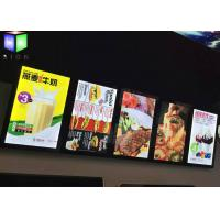 Wholesale Menu Lightbox LED Restaurant Menu Boards Backlight Aluminum Alloy Frame from china suppliers