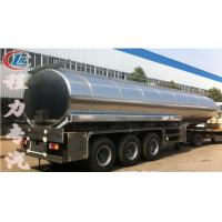 Wholesale high quality and best price stainless steel 40000L-50000L milk tank trailer for sale, HOT SALE!40-50m3 milk tank from china suppliers