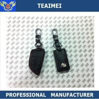 Wholesale Popular Personalised Genuine Leather Car Key Shell Case For Cadillac from china suppliers