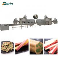 Wholesale Single screw Dog Food Extruder dog pet chews  customizable Voltage from china suppliers