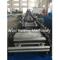 Quality Online Hydraulic Punching C Purlin Roll Forming Machine , Steel Roll Forming Machine 15KW Power for sale