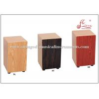 Wholesale Matt Finish Cajon Wooden Hand Drum Percussion Musical Instruments 30 * 29 * 50 cm from china suppliers