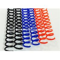Wholesale Colorful Plastic Spiral Binding Coils 48 Rings 4 1 Pitch For Office / School from china suppliers