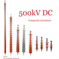 Quality 500kV Composite / Polymeric High Tension Insulators / Transmission Line Insulator for sale