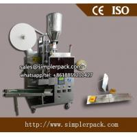 Quality Automatic Double Chamber Malawi CTC Tea Bag Packing Machine with Thread and Tag for sale