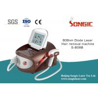Wholesale White And Brown portable 808nm Diode Laser Hair Removal Machine from china suppliers