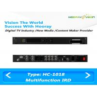 Wholesale All In One Terrestrial Digital TV Satellite Receiver IRD Support 2 CAM with HDMI SDI AV USB from china suppliers