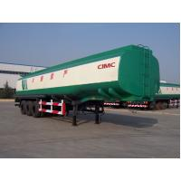 Wholesale 3 axle of China factory diesel tank trailer for sale from CIMC from china suppliers