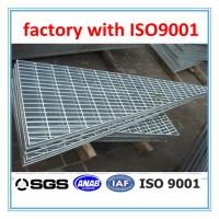 Quality customized hand made triangle steel grating for sale