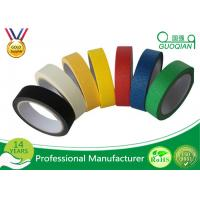 Wholesale Colorful Silicone Adhesive Colored Masking Tape Low Tack Without Residue from china suppliers