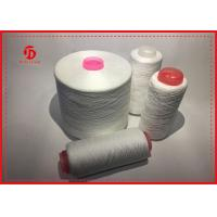 Wholesale High Strengh Plastic Core Polyester Spun Yarn Raw White 20S - 60S Count from china suppliers