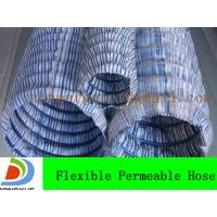 Wholesale flexible permeable hose price from china suppliers