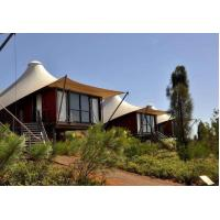 Quality Luxury Resort Vacation Resort Canopy Large Camp Tent Hotel With Lining / Floor for sale