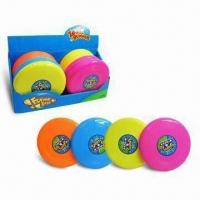 Wholesale Flying Discs with 4 Colors Asst, Sized 30 x 30 x 2.5cm from china suppliers