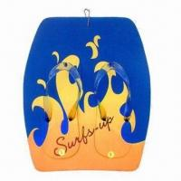 Wholesale Promotional EVA Board Slippers, Made of EVA Sole and PVC Strap from china suppliers