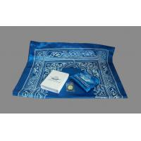 Wholesale Travelling, outside Muslim pocket prayer PU mat carpet with Qibla Locator Compass from china suppliers