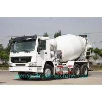 Wholesale Sinotruk HOWO 6x4 Concrete Mixer Truck with Euro III standard ZZ1257M3641W, tank volume 10m3 from china suppliers