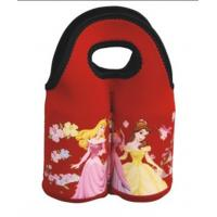 Wholesale Fashion designed neoprene beer bottle handbag, shock proof neoprene wine bottle holder bag from china suppliers