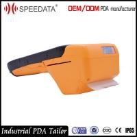Wholesale 3G 4G LTE Industrial Handheld Smart IC Card Reader PDA with Thermal Printer Barcode from china suppliers