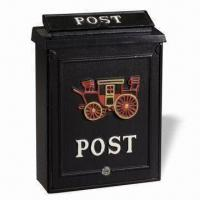 Quality Mail Box, Measures 29 x 12.5 x 41.5cm, with Trendy Design for sale